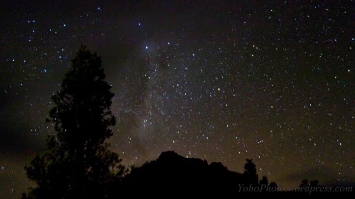 Stars at Pinnacle Hut